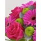 Pink Rose and Germini Arrangement