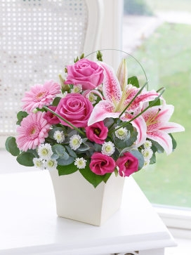 Pink Exquisite Arrangement