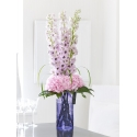 Luxury Hydrangea and Delphinium Vase