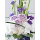 Luxury Lilac Rose, Calla Lily and Lisianthus Vase