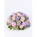 Rose and Freesia Posy - Pink & Lilac
