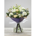 Large Twinkling Whites Hand-tied